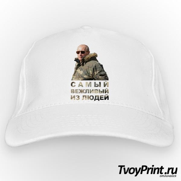 Бейсболка Путин: самый вежливый из людей