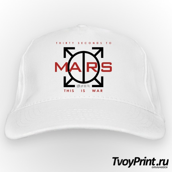 Бейсболка 30 seconds to mars Landing