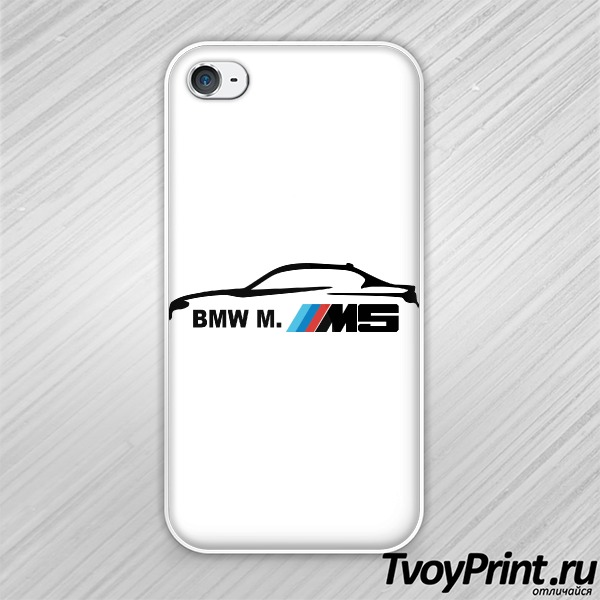 Чехол iPhone 4S BMW M5 Series