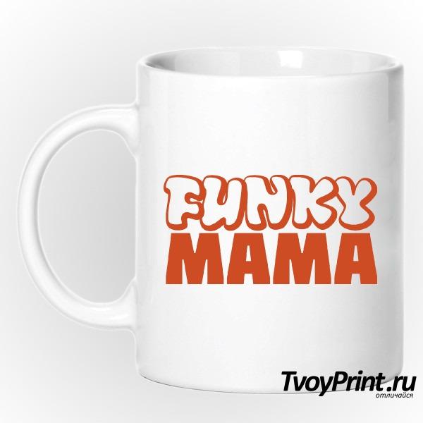 Кружка Funky МАМА (жен.)