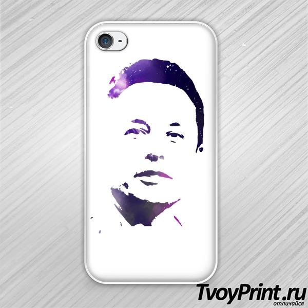 Чехол iPhone 4S Илон Маск (космос)
