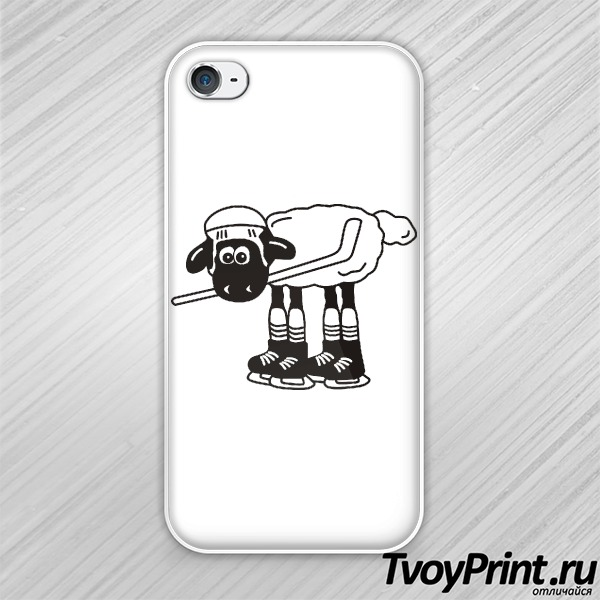 Чехол iPhone 4S Овечкин