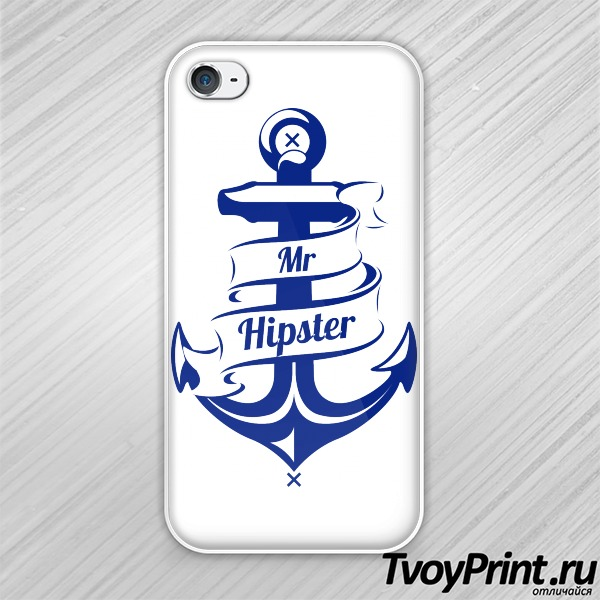 Чехол iPhone 4S Mr hipster