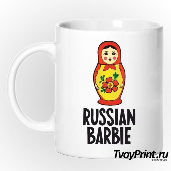 Кружка Russian barbi