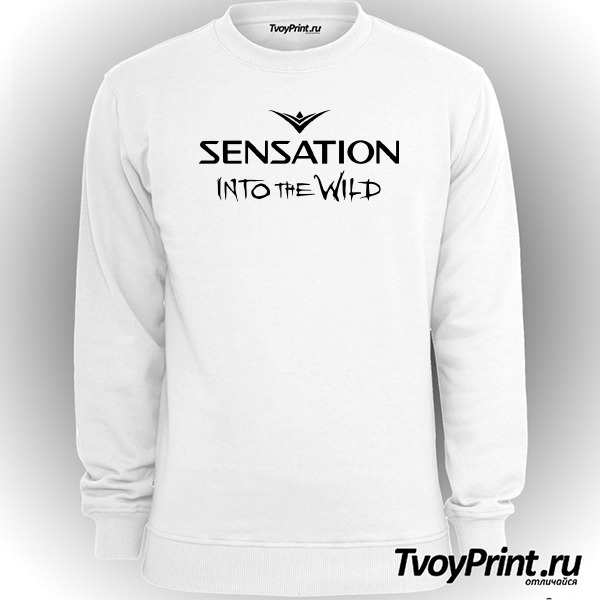 Свитшот Sensation into the wild 2014