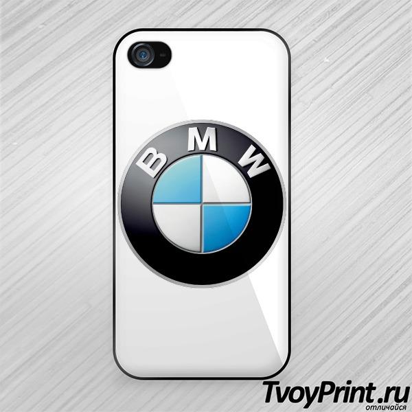 Чехол iPhone 4S Логотип BMW значок