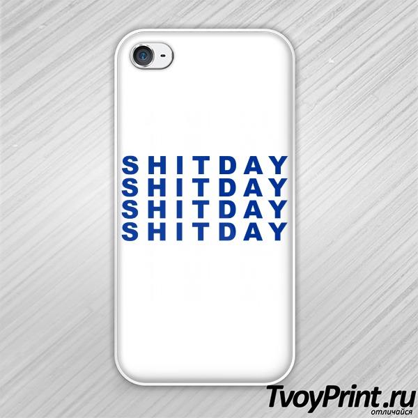 Чехол iPhone 4S Shitday