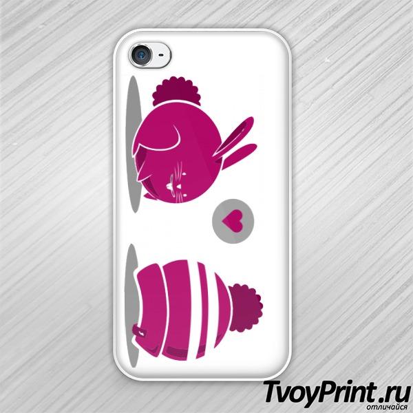 Чехол iPhone 4S Заяц