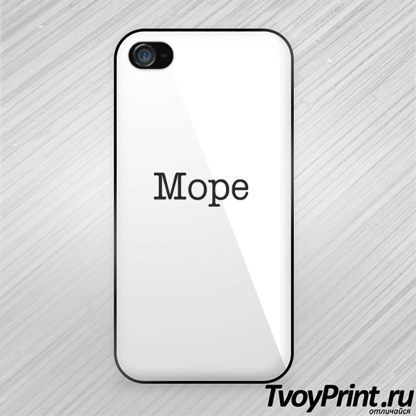 Чехол iPhone 4S Море