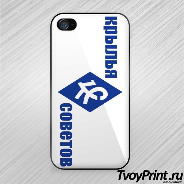 Чехол iPhone 4S Крылья советов (2)