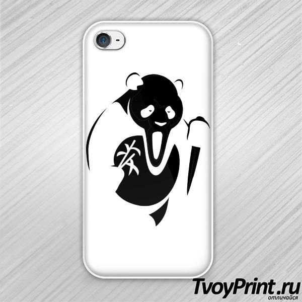 Чехол iPhone 4S Панда