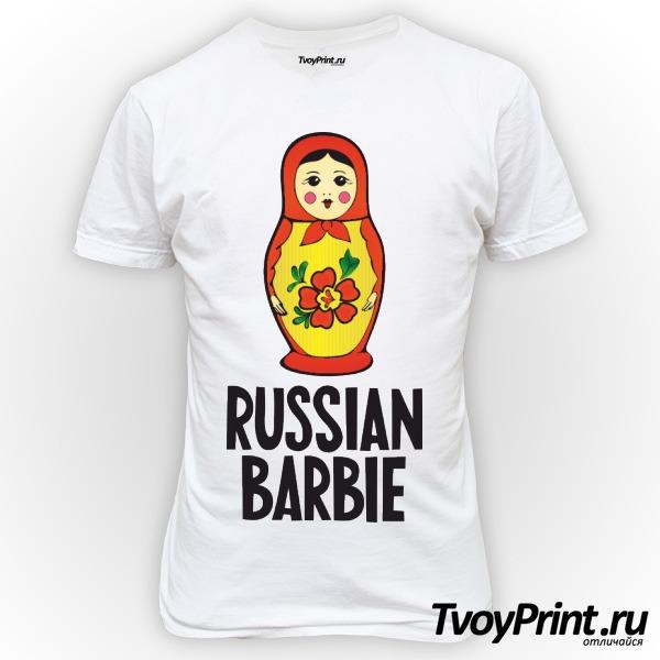 Футболка Russian barbi