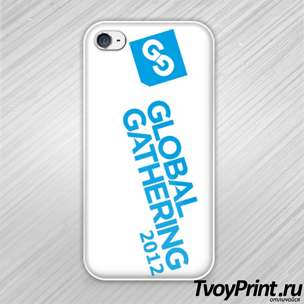 Чехол iPhone 4S Global Gathering (5)