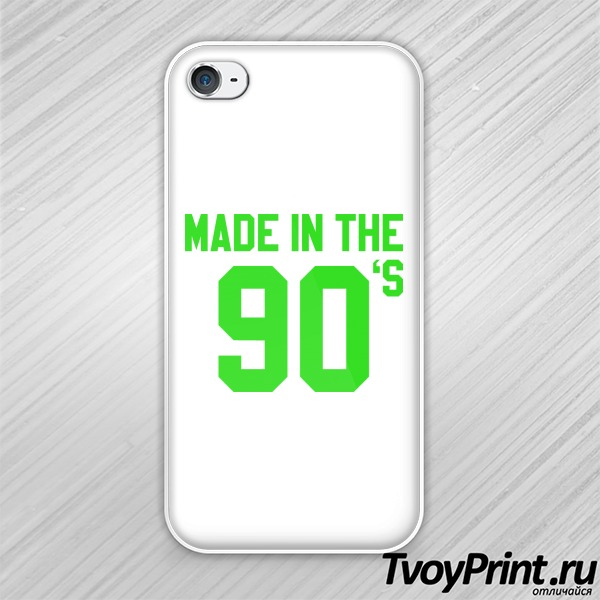 Чехол iPhone 4S made  in the 90's