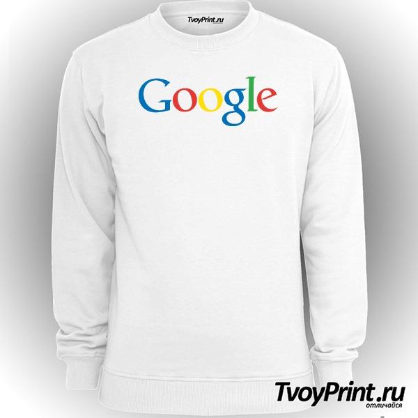 Свитшот Google (лого)