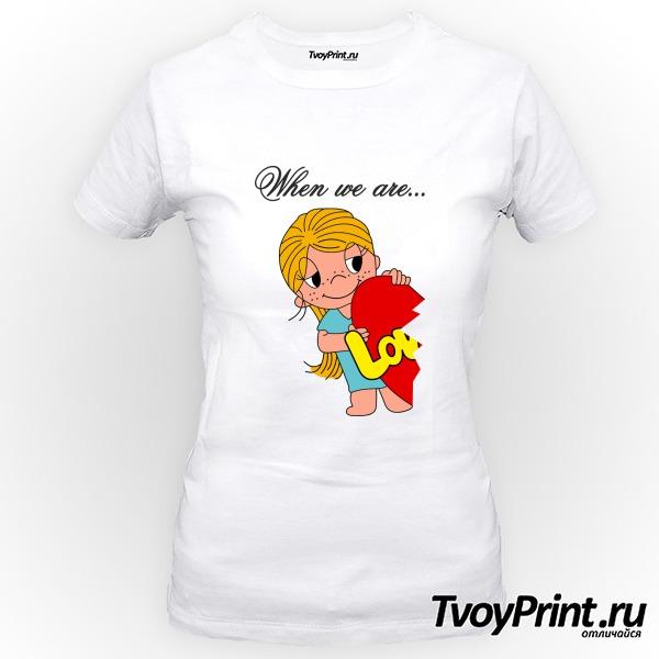 Футболка Love is (girl)