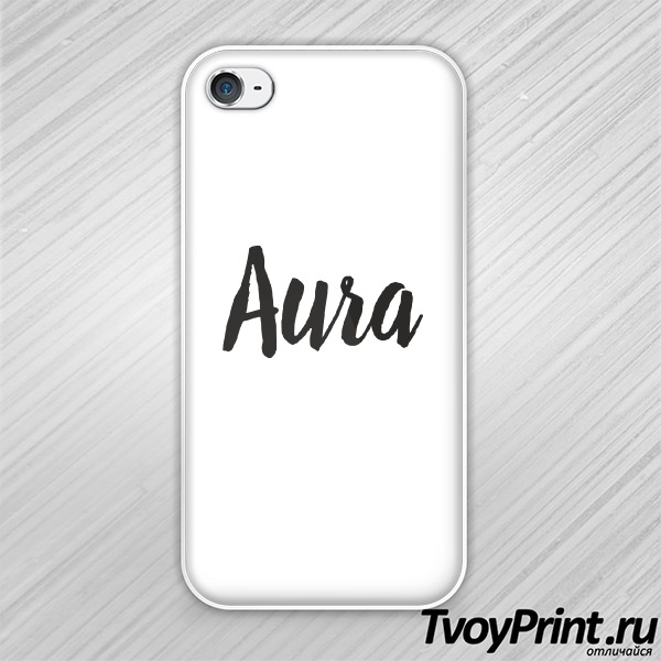 Чехол iPhone 4S aura