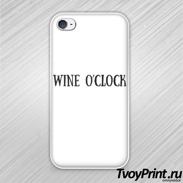 Чехол iPhone 4S Время вина