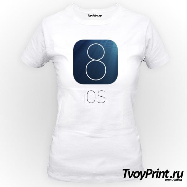 Футболка IOS 8