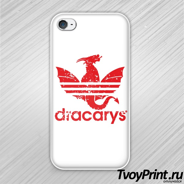 Чехол iPhone 4S dracarys