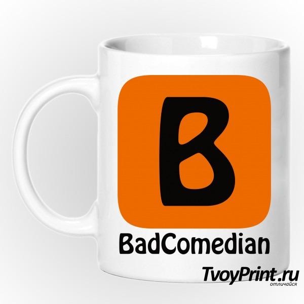 Кружка BadComedian (блогер)