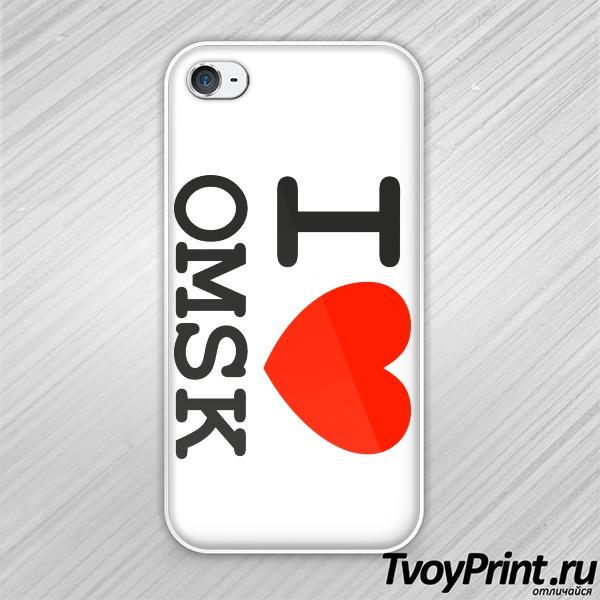 Чехол iPhone 4S Омск