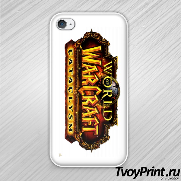 Чехол iPhone 4S World Of WarCraft