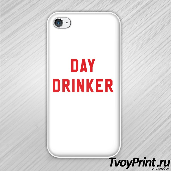 Чехол iPhone 4S day drinker