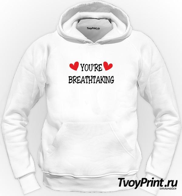 Толстовка YOU'RE BREATHTAKING