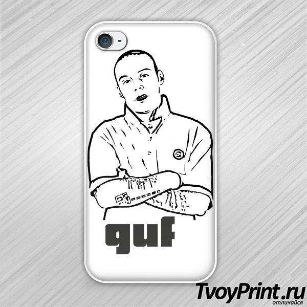 Чехол iPhone 4S GUF