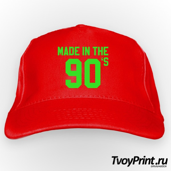 Бейсболка made  in the 90's