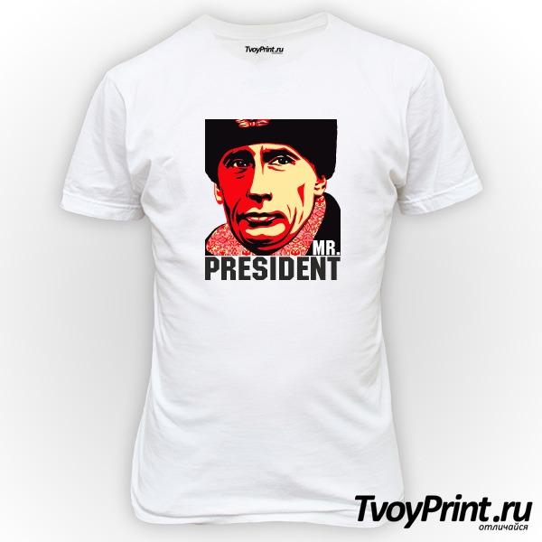 Футболка Путин Mr President