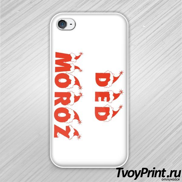 Чехол iPhone 4S Ded Moroz