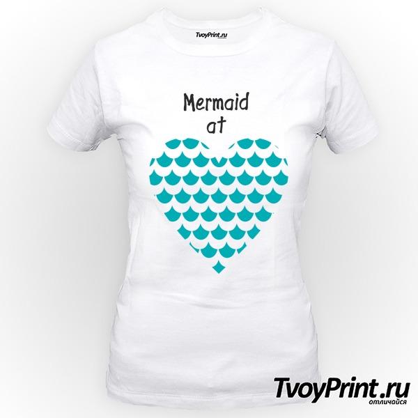 Футболка Mermaid at love