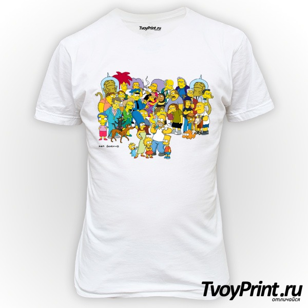 Футболка Simpsons 2 Симпсоны
