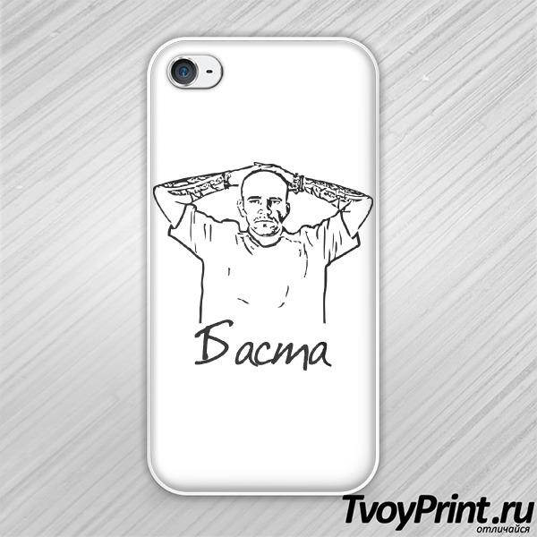 Чехол iPhone 4S Баста