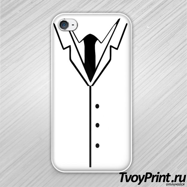 Чехол iPhone 4S костюм
