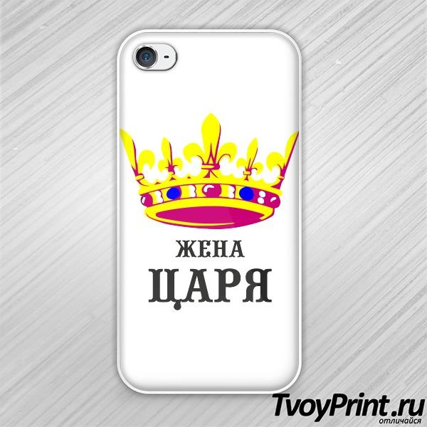 Чехол iPhone 4S Жена царя (парн)