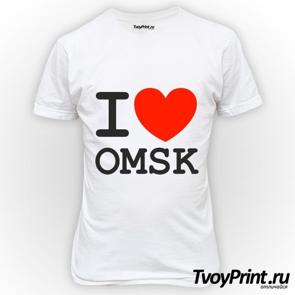 Футболка Омск
