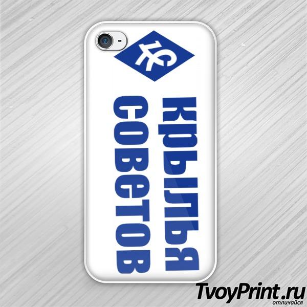 Чехол iPhone 4S Крылья советов (1)