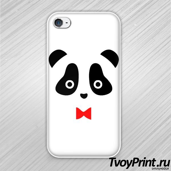 Чехол iPhone 4S Панда муж