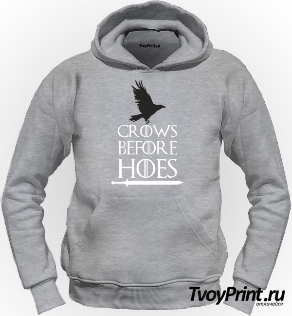 Толстовка Got Crows Before Hoes