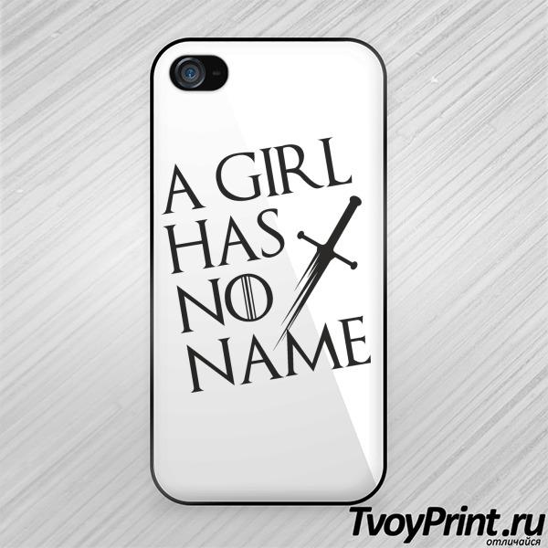 Чехол iPhone 4S У девочки нет имени