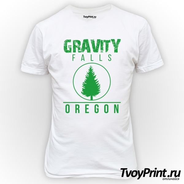 Футболка GRAVITY FALLS OREGON