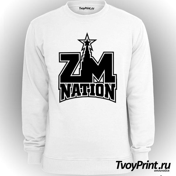 Свитшот ZM nation