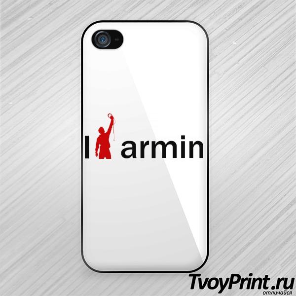 Чехол iPhone 4S Армин ван Бюрен