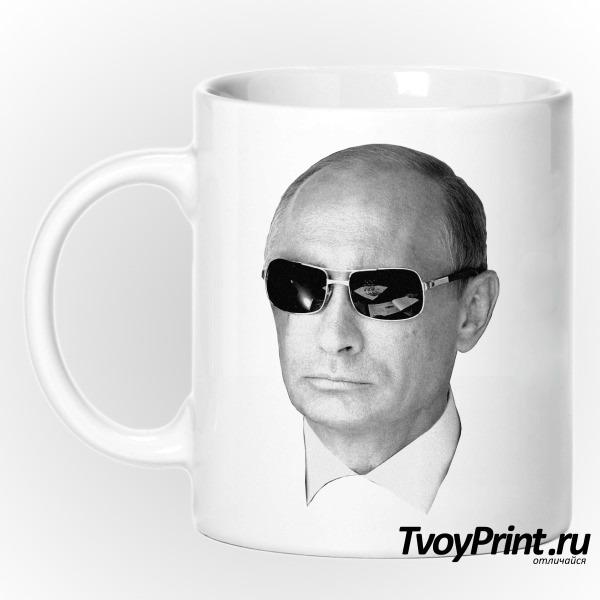 Кружка Путин в очках