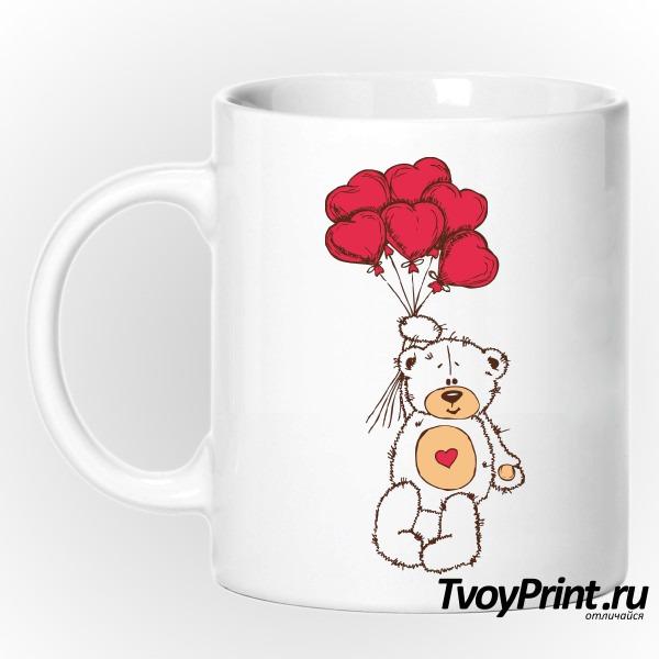 Кружка Тедди с шариками