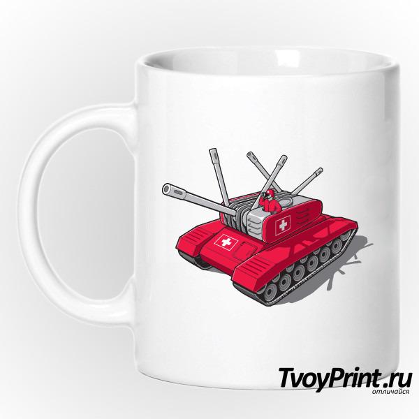 Кружка Швейцарский танк