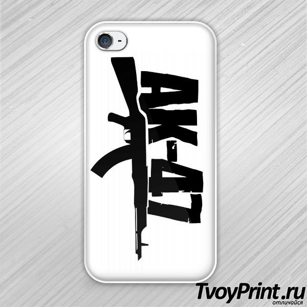 Чехол iPhone 4S АК-47